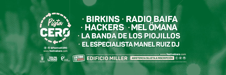 Miller acoge en noviembre Pista CERO, un aperitivo del Festival que regresará en 2021 del 15 al 17 de octubre