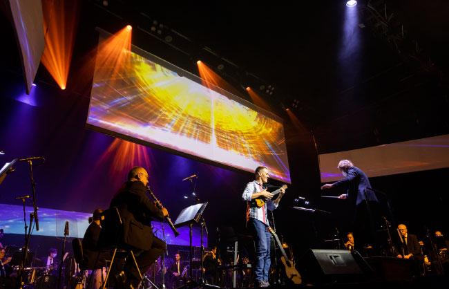 Banda Sinfónica Municipal de LPGC y Germán López
